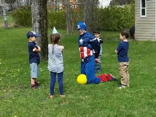 Fête de super-héros
